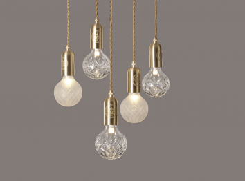 Lee Broom - Crystal Bulb Chandelier- Mix