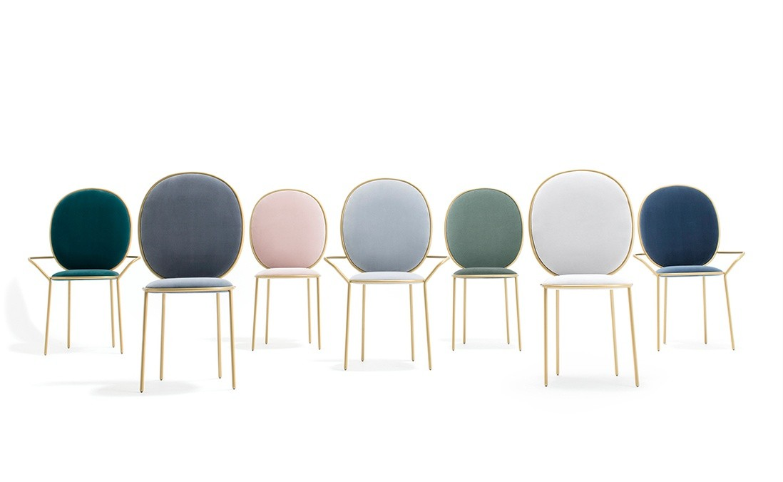 Stay Dining Chair with/without Arm