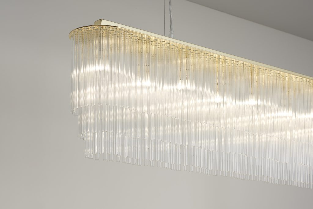 Linear Chandelier Thin